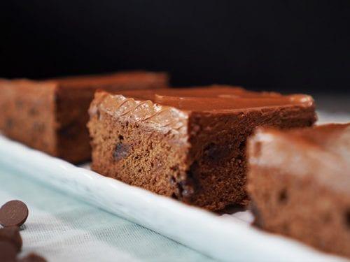 Panera Fudge Brownie