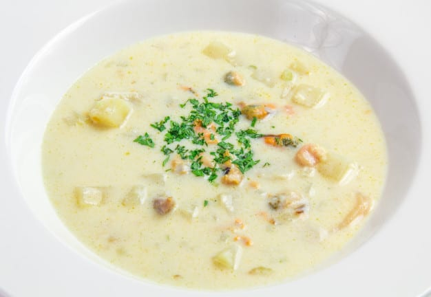 Panera Summer Corn Chowder Copycat Recipe
