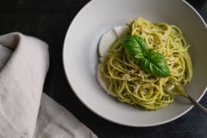Pesto Fettuccine with Chicken Recipe