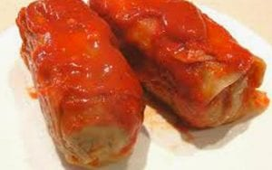 Pork Skin Braciole in Tomato Sauce Recipe
