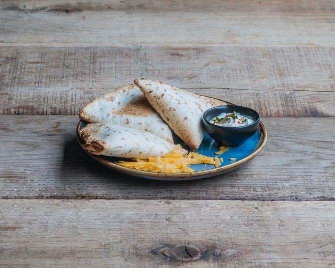 Pita Bread Quesadillas Recipe