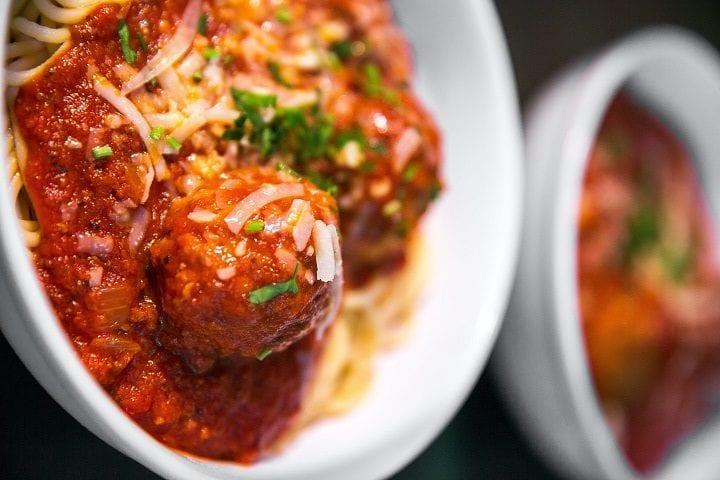 Pork, Lamb, & Beef Meatballs Recipe
