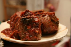 Pork Braciole in Tomato Sauce Recipe