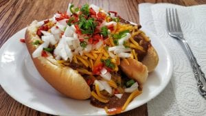 Portillo's Crockpot Chili Cheese Dogs Recipe