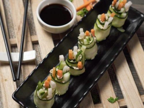 zucchinii sushi