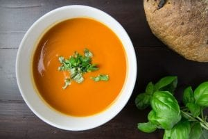 Red Curried Caribbean Yam Soup Recipe