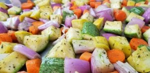Roasted California Blend Vegetables Recipe
