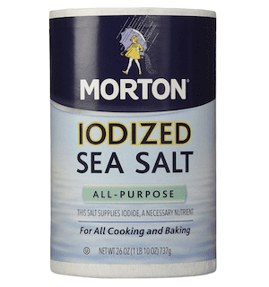 Morton Salt Iodized Sea Salt