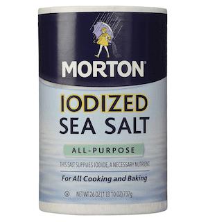 Morton Salt Iodized Sea Salt