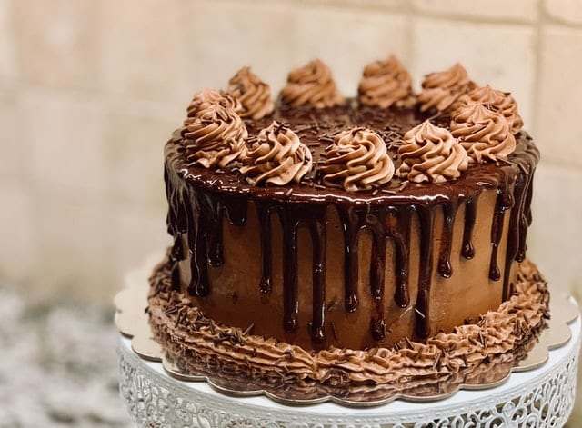 Salted Caramel Chocolate Layer Cake Recipe