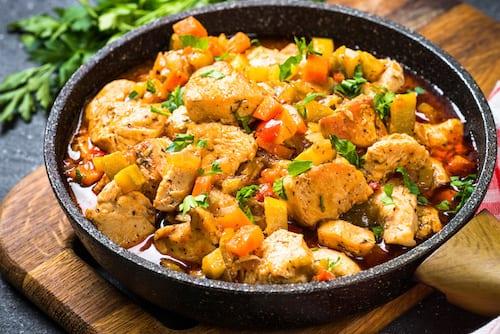 Sautéed Chicken with Ham & Sherry Recipe