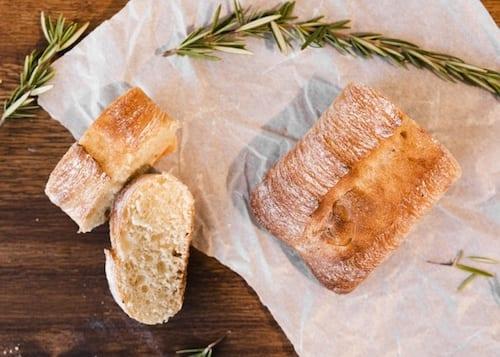 Simple Rosemary Sage Bread