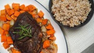 Slow Cooker Classic Pot Roast & Rice Recipe
