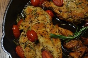 Slow Cooker Rosemary and Red Pepper Chicken Recipe