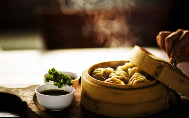 Steamed Dumplings, Smell of Food