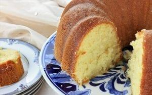 Sugarless Sponge Cake Recipe
