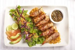 Bacon-Wrapped Barbecue Shrimp Recipe