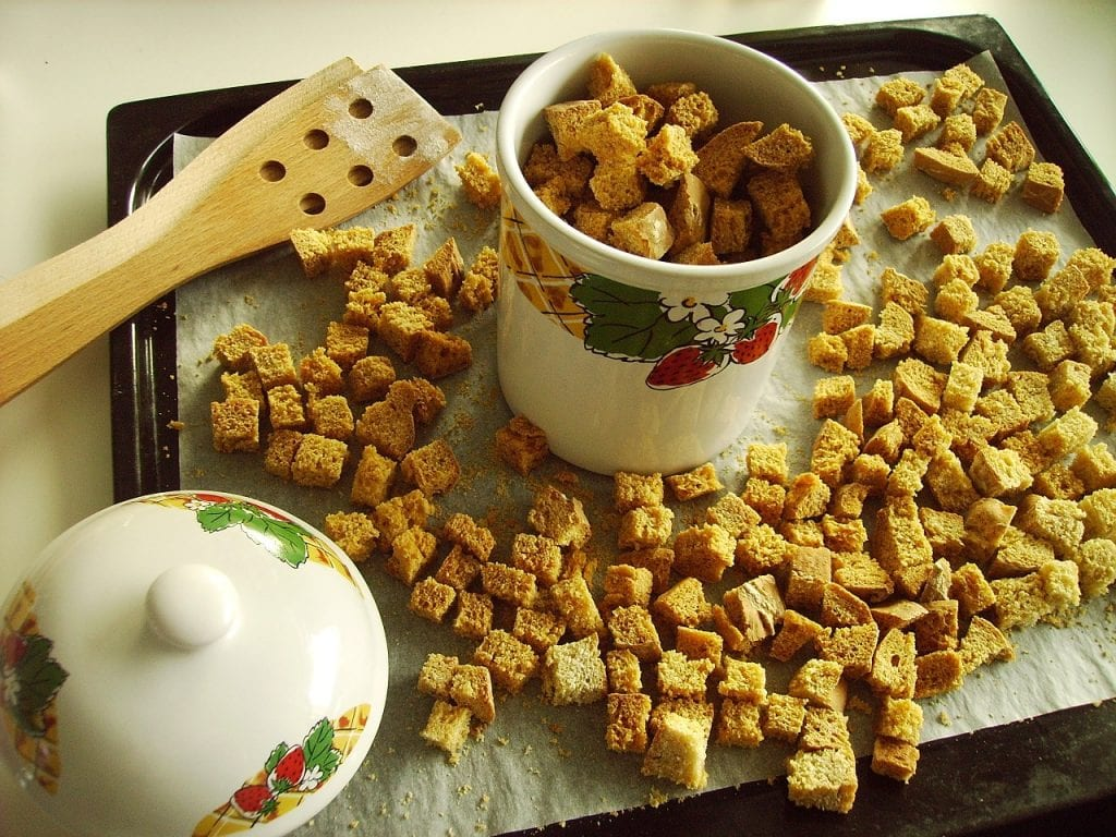 Bagel Croutons Recipe
