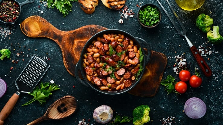 Recipes Using Canned Beans via Little House Living