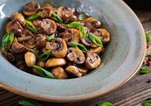 Balsamic Mushroom Salad Recipe