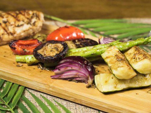Basted Grilled Vegetables