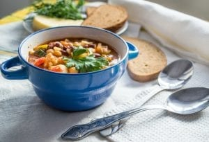 Bean And Barley Soup With Ham Recipe