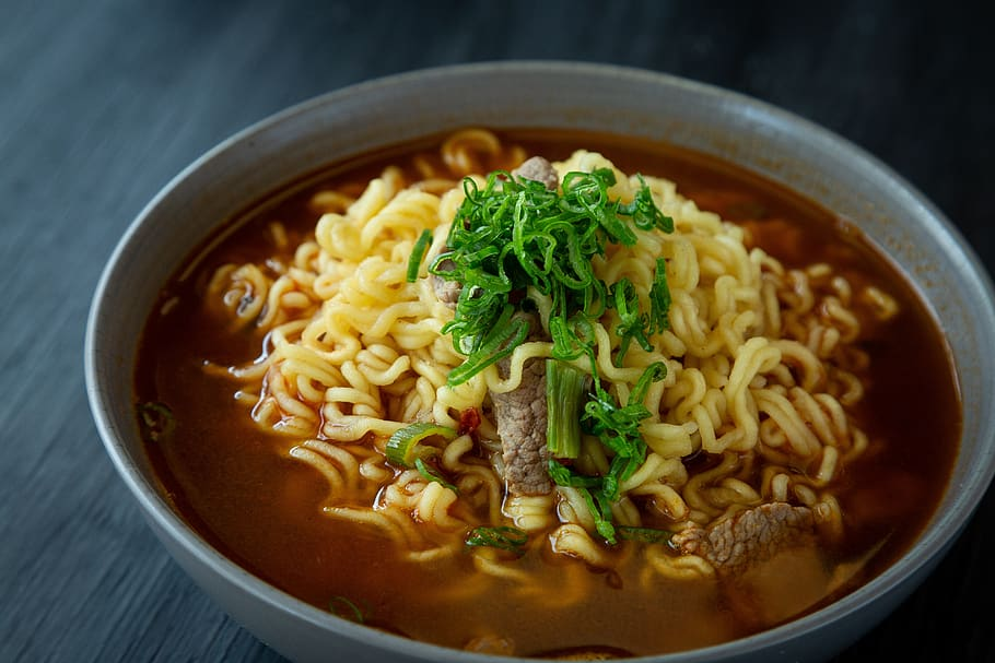 Bean and Noodle Soup Recipe