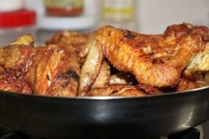 Beer Braised Chicken Wings Recipe