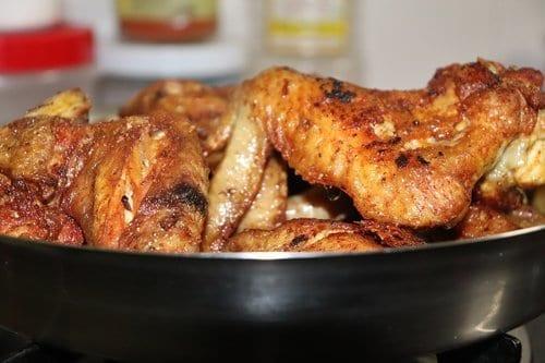 Beer Braised Chicken Wings Recipe