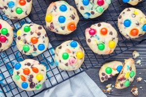 Better-Than-Mrs. Fields M&M Cookies Recipe