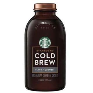 Starbucks Cold Brew Coffee, Black Unsweetened