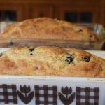 great twist on blueberry banana bread