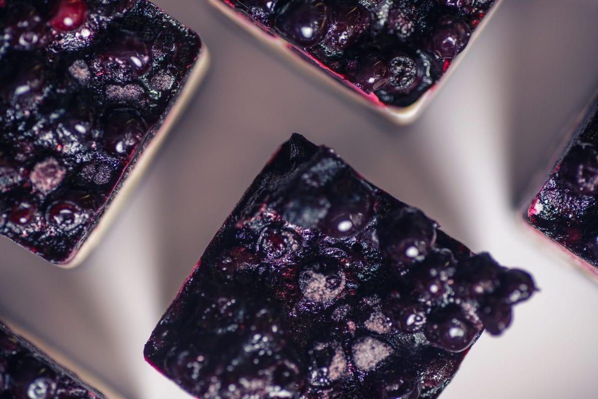 Blueberry Cheesecake Squares Recipe