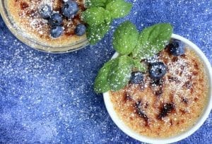 Blueberry Creme Brulee Recipe