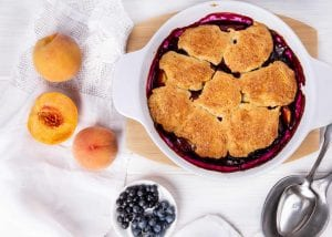 Post image for Blueberry Peach Tart