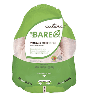 Just BARE Natural Fresh Whole Chicken