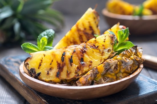 Brazilian Grilled Pineapple Recipe