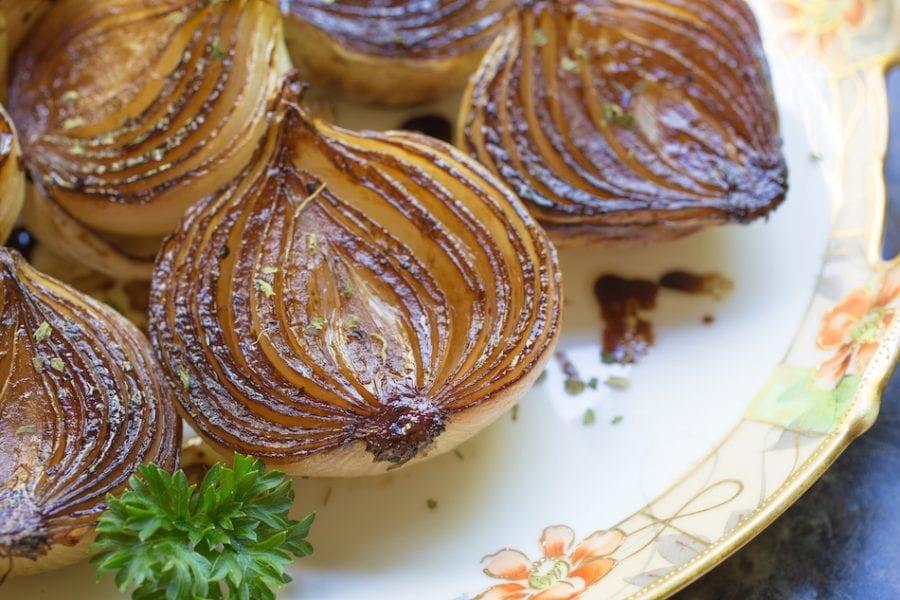 Brown-Braised Onions Recipe