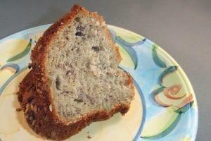 Butter Pecan Banana Cake Recipe