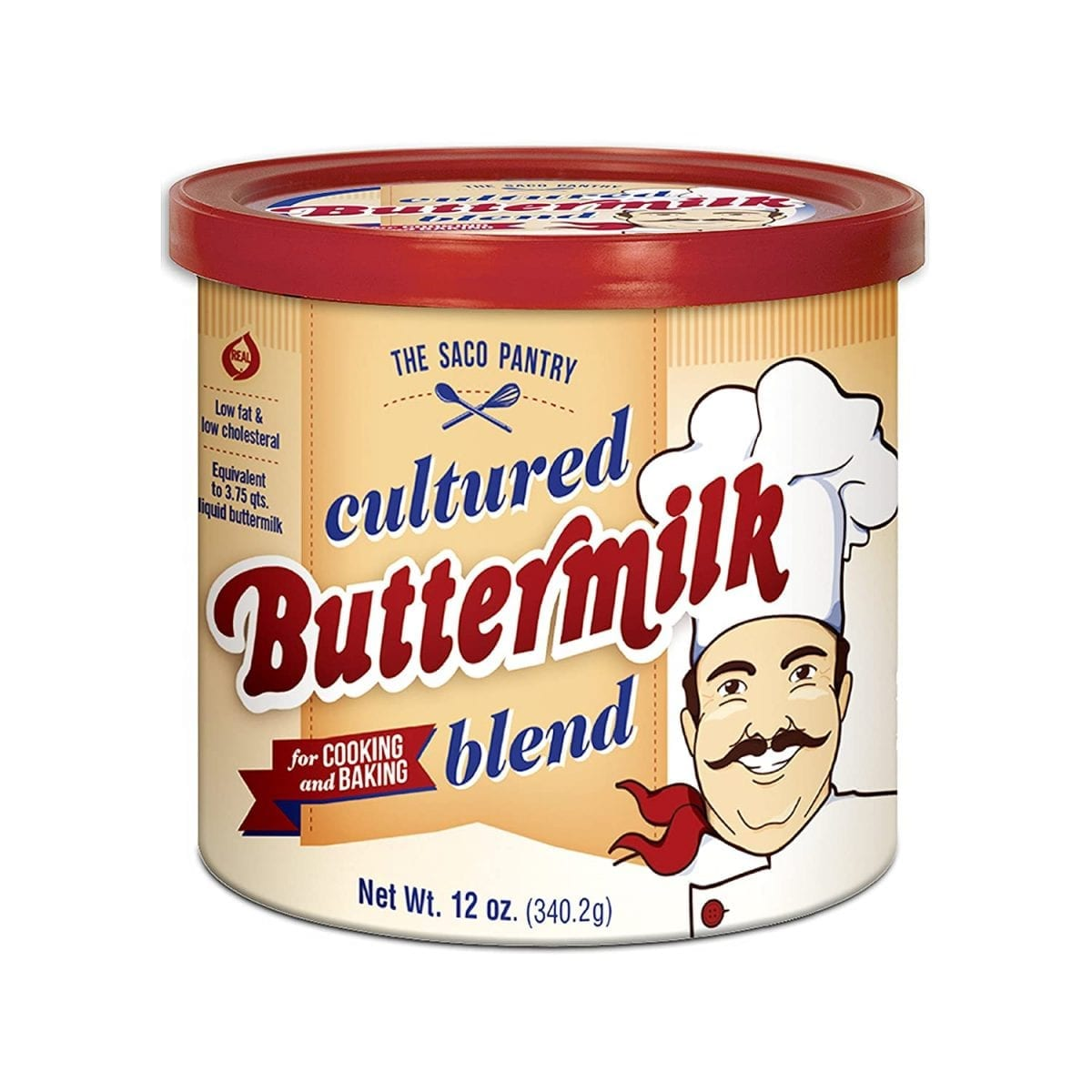 Saco Cultured Buttermilk Powder for Cooking and Baking