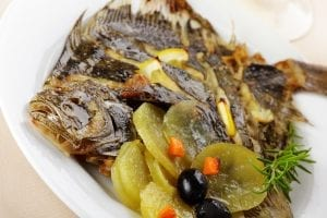 Buttery Baked Turbot Recipe