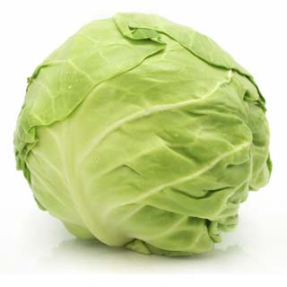 Green Cabbage, Locally Grown