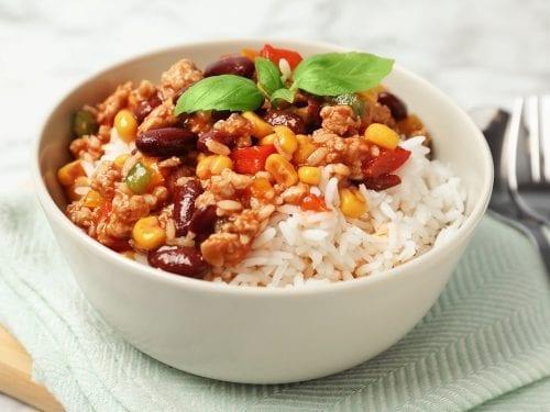 cajun corn rice