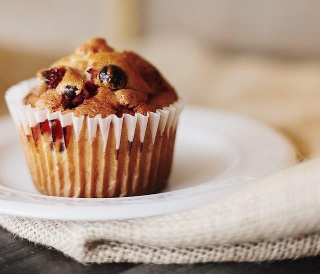 Cake Mix Cherry Muffins Recipe