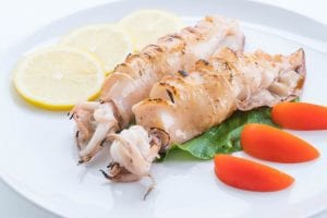 Calamari With Vegetables Recipe
