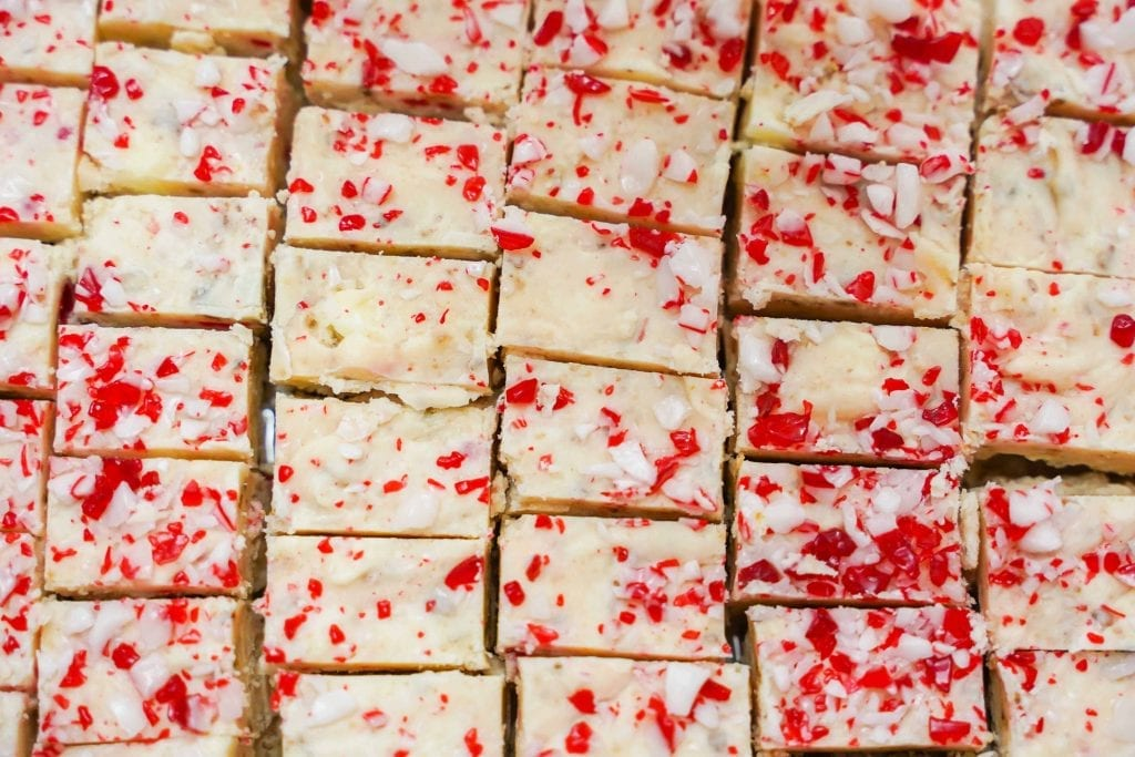 Candy Cane White Fudge Recipe