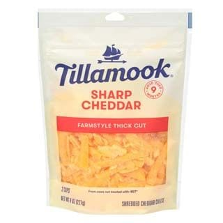 Tillamook, Sharp Cheddar Shredded Cheese