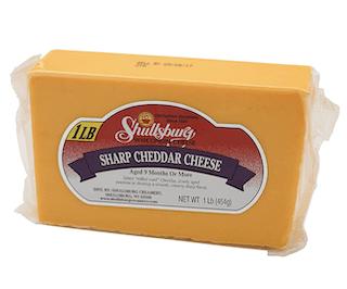 Shullsburg Creamery - Sharp Cheddar Cheese