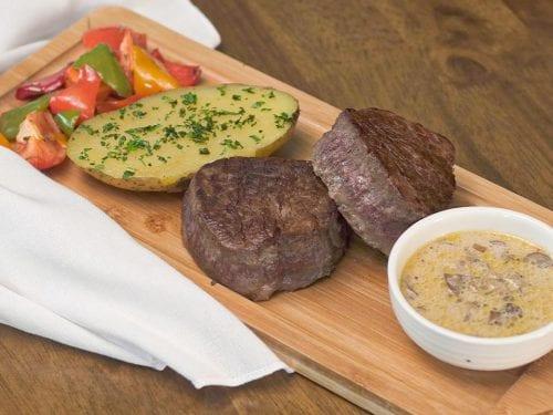 Cheesecake Factory's Steak Diane Recipe (Copycat), classic beef tenderloin steak with diane sauce