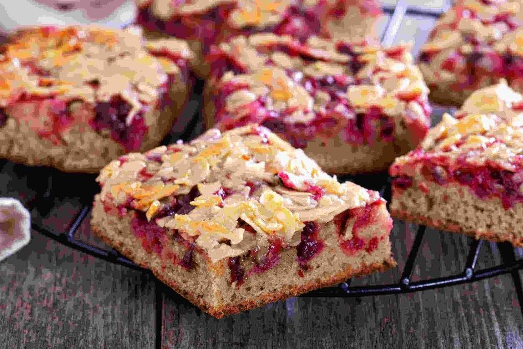 Cherry Almond Bars Recipe